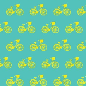 Bicycle Teal/Yellow