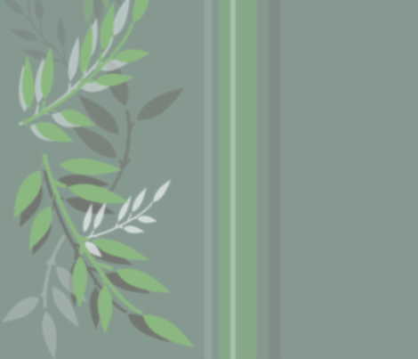 Calm Leaf Boarder fabric by duchess on Spoonflower - custom fabric