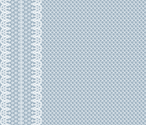 Lace Border fabric by leighr on Spoonflower - custom fabric
