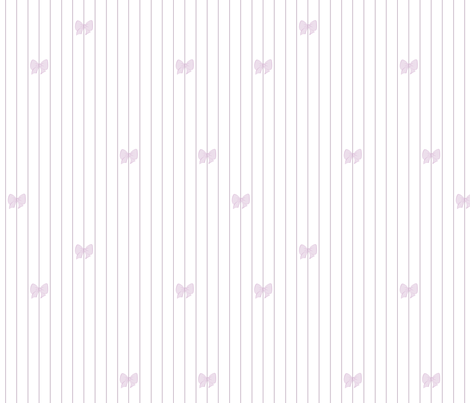 Princess Lavender Bows fabric by patchinista on Spoonflower - custom fabric