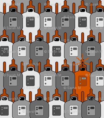 Invaders Orange