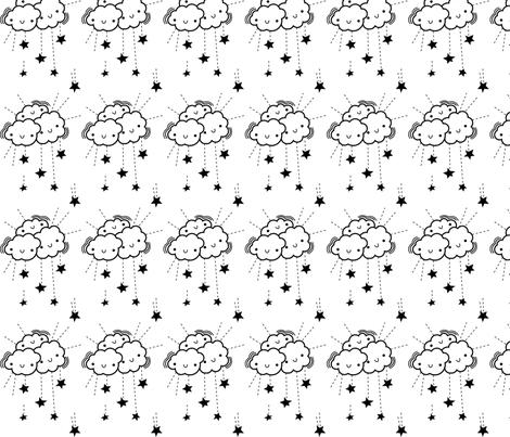 Star_Fall_2 fabric by limedrop on Spoonflower - custom fabric