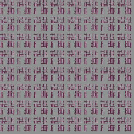 Orientalish in Wine © 2009 Gingezel Inc. fabric by gingezel on Spoonflower - custom fabric