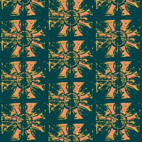 Adire 3 fabric by susaninparis on Spoonflower - custom fabric