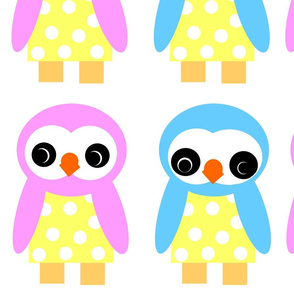 Wee Bird doll patterns