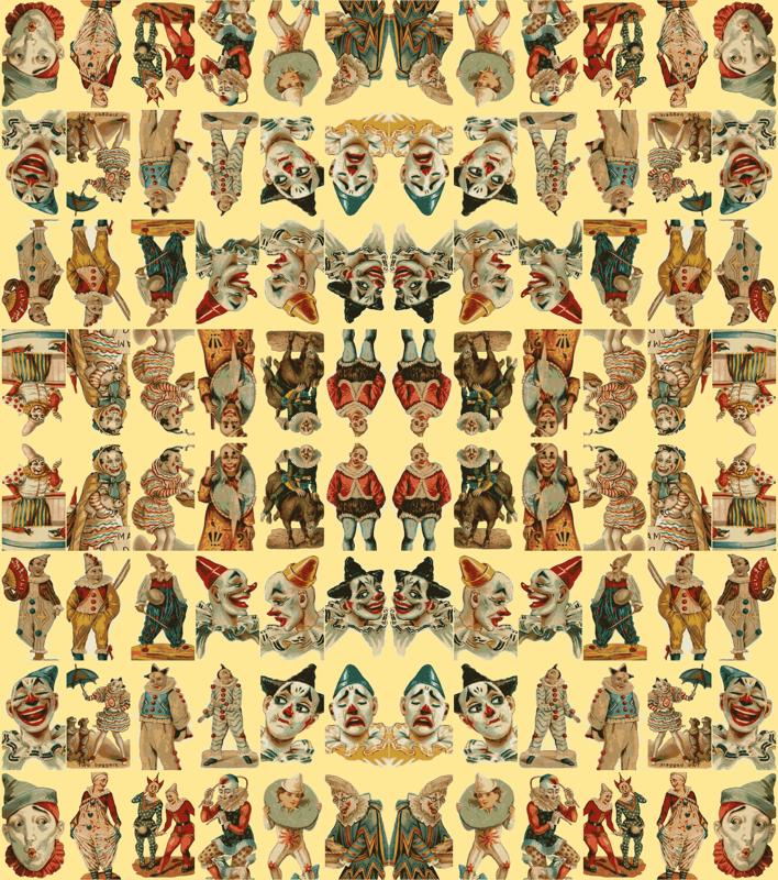 Victorian Graphic Design Circus