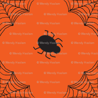 Halloween Spider Orange