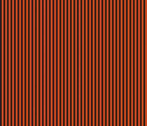 halloween 14 stripe blackorange fabric by bellamarie on spoonflower custom - Black And Orange Halloween