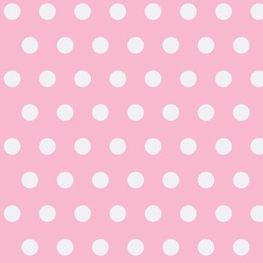 Pink and White Polkadot Girl