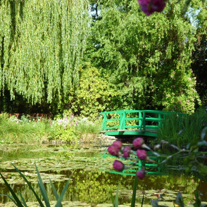 Footbridge at Giverny