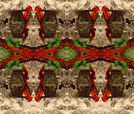 Mr. Moocher  fabric by robin_rice on Spoonflower - custom fabric
