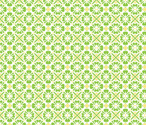 Lime Pie fabric by inscribed_here on Spoonflower - custom fabric