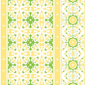 Lemon Chiffon Border