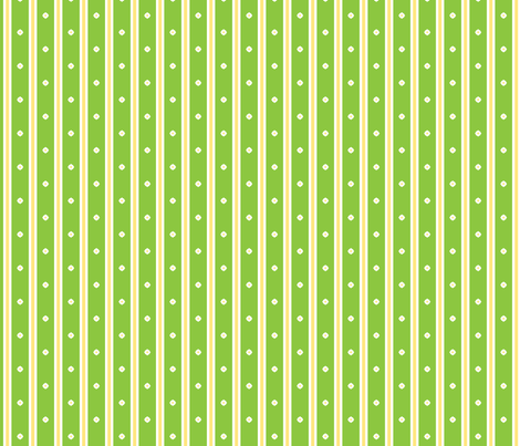 Lime Blossom Stripe fabric by inscribed_here on Spoonflower - custom fabric