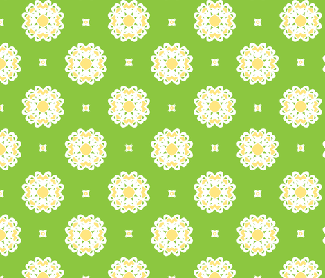Key Lime fabric by inscribed_here on Spoonflower - custom fabric