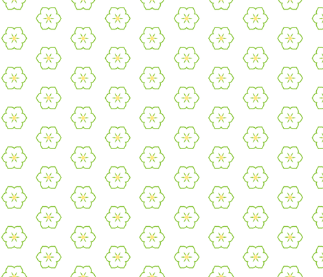 Citrus Floral fabric by inscribed_here on Spoonflower - custom fabric