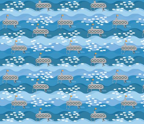 Submarines! fabric by wildnotions on Spoonflower - custom fabric