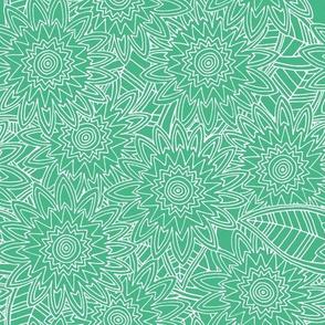 New York green fleur