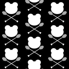 Bear and Cross Honey Dippers
