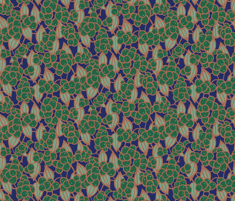 ButtonBerryDeco fabric by ashland_house_designs on Spoonflower - custom fabric