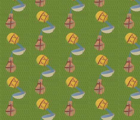 Gourd Canteens fabric by lowa84 on Spoonflower - custom fabric