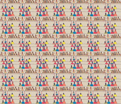 Faith Awaits-302 fabric by kkitwana on Spoonflower - custom fabric