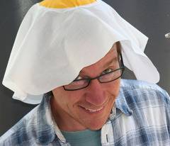 Egg on my head hat
