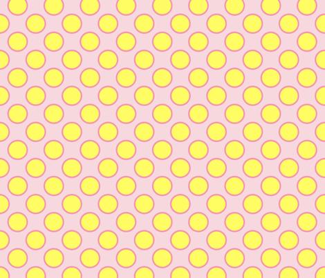 yellow_dots fabric by oranshpeel on Spoonflower - custom fabric