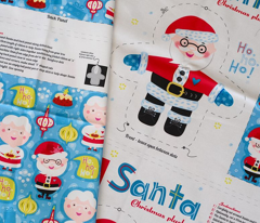 Santa Loves Christmas Doll Pattern