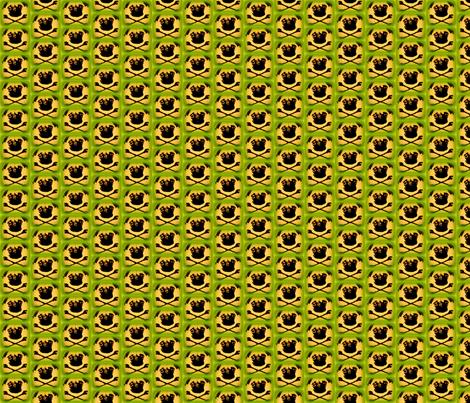 imagespug_skull-ed fabric by artpug66 on Spoonflower - custom fabric