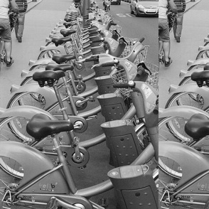 Velib Bikes Paris