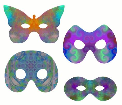 The_Four_Mystics fabric by oranshpeel on Spoonflower - custom fabric