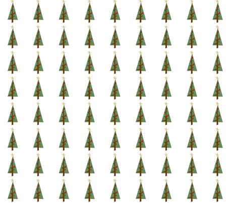 christmas_tree fabric by phatsheepfabrics on Spoonflower - custom fabric