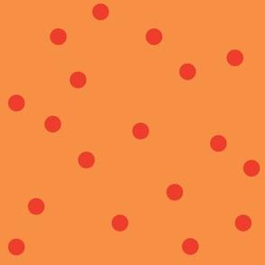 POLKA-DOTS carrot&tomato