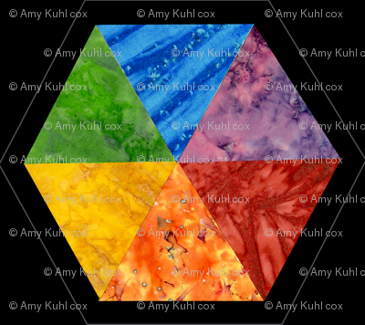 Batik Color Wheel