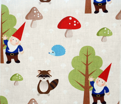 Woodland Friends - Red