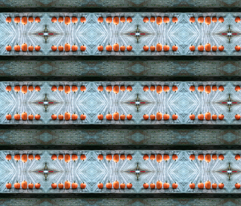 Pumpkin Porch fabric by ja2 on Spoonflower - custom fabric