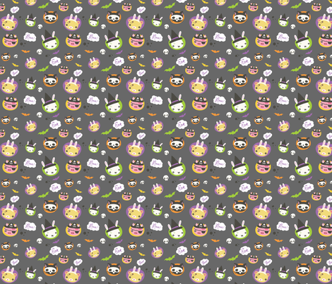 Witches on Switches fabric by milktooth on Spoonflower - custom fabric