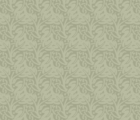 leaf jacquard fabric by heidikaether on Spoonflower - custom fabric