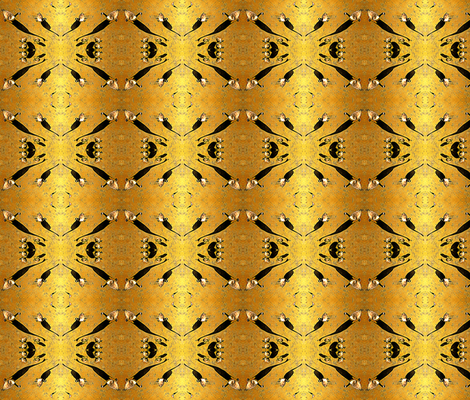 Make Way for Goslings  fabric by robin_rice on Spoonflower - custom fabric