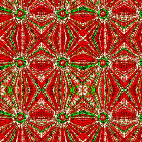 Christmas Swirl Mirrored fabric by robin_rice on Spoonflower - custom fabric