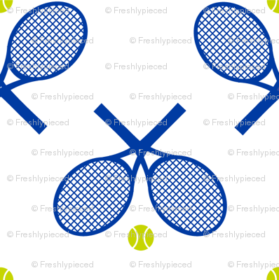 Tennis Racquets White