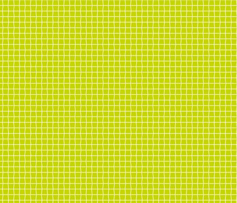 Tennis Strings Green fabric by freshlypieced on Spoonflower - custom fabric