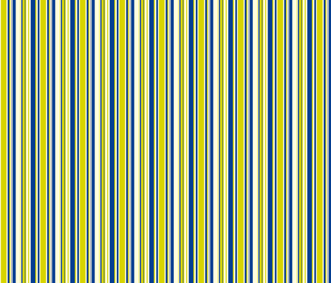 Tennis Stripe Blue fabric by freshlypieced on Spoonflower - custom fabric