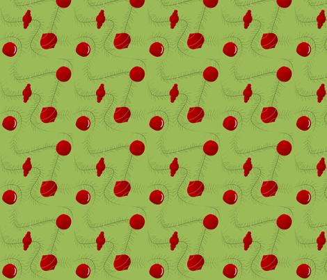 Ornaments & Garland fabric by lowa84 on Spoonflower - custom fabric