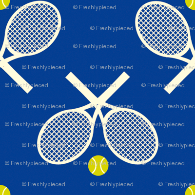 Tennis Racquets Blue
