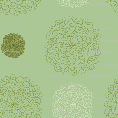 jungledelights puffs vintage green 2jpg
