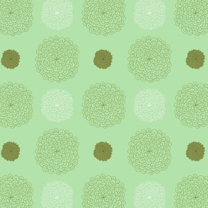 jungledelights puffs vintage green 3jpg