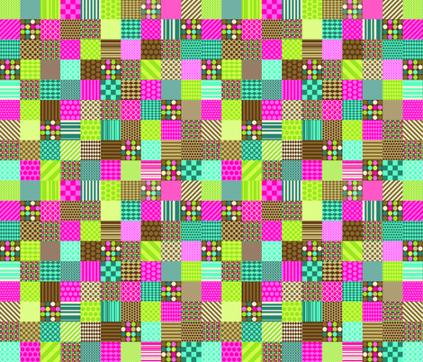 girl_quilt_copy fabric by petunias on Spoonflower - custom fabric
