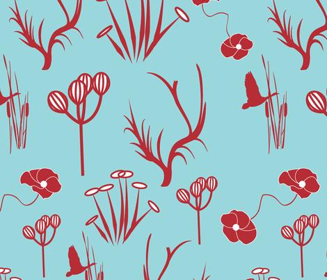 way-thru-forest fabric by guapa on Spoonflower - custom fabric